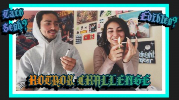 BEDROOM HOTBOX CHALLENGE ft. A Homie W/ Some Questions!