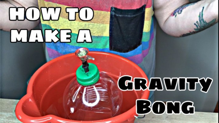 HOW TO MAKE A GRAVITY BONG // STONER101