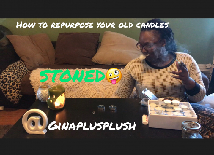 DIY How To Use Every Inch Of A Candle STONED!!