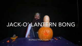BONGSTRUCTION 101: Jack-O'-Lantern Bong