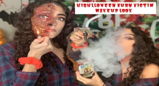 Stoner Burn Victim Highlloween Look|Bakedbeauty420