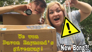 DAVONRAYMOND Giveaway Unboxing!