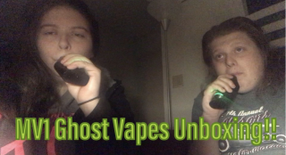 GHOST VAPES MV1 UNBOXING