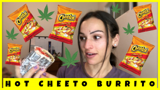 DIY CANNABIS HOT CHEETOS BURRITO
