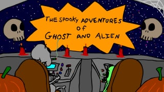 The Spooky Adventures of Ghost and Alien