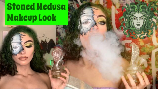 Stoned Medusa | Highlloween Makeup Look | Bakedbeauty420