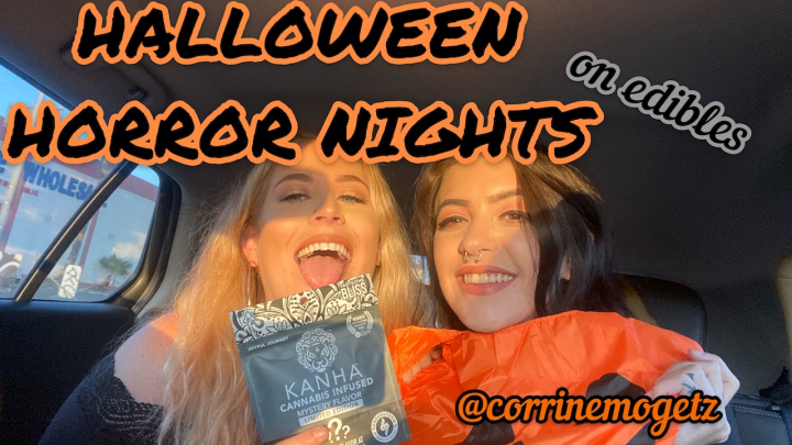 HALLOWEEN HORROR NIGHTS (ON EDIBLES) feat. Corrine Mogetz