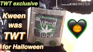most fun costume ever ~ the actual WeedTube