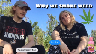 WHY WE SMOKE WEED & MADE A WEED PAGE (all the tea)