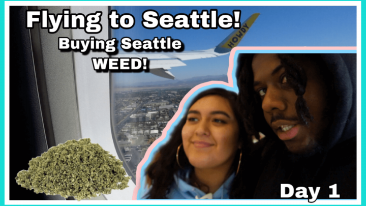 Flying to Seattle | Buying Seattle WEED Vlog Day 1