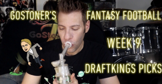 GoStoner's Week 9 Fantasy Football Draftkings Picks