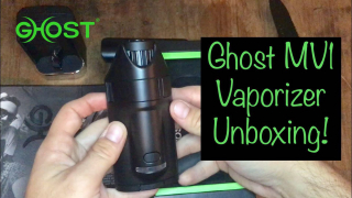 Ghost MV1 Vaporizer Unboxing!!