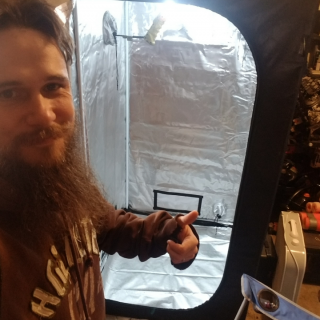 My New Grow Tent!