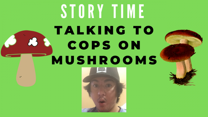 Confronting Police On Mushrooms - STORY TIME