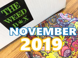 The Weed Box MEGA BOX November 2019 Unboxing