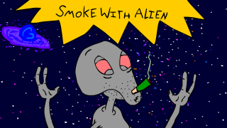 Smoke With Alien - IRL UPDATE!