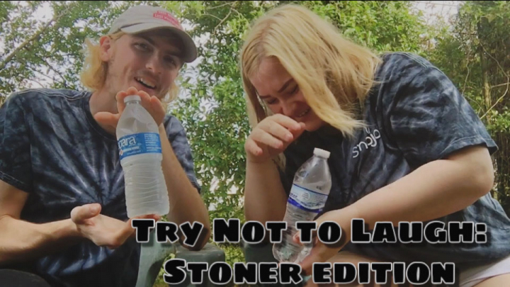 Try Not To Laugh: Water Challenge (Stoner Edition!)