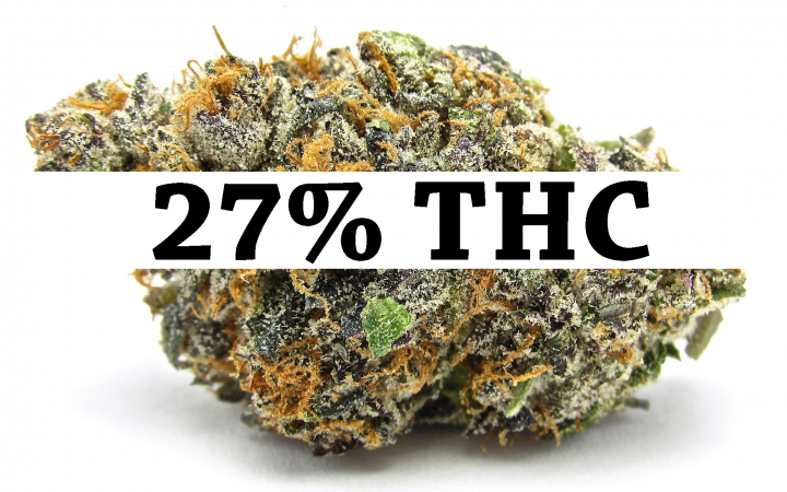 27% THC CANNABIS STRAIN! (SUPER HIGH THC % CANNABIS SEEDS)