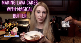 Hazy Hula High Makes Infused Lava Cakes with Magical Butter