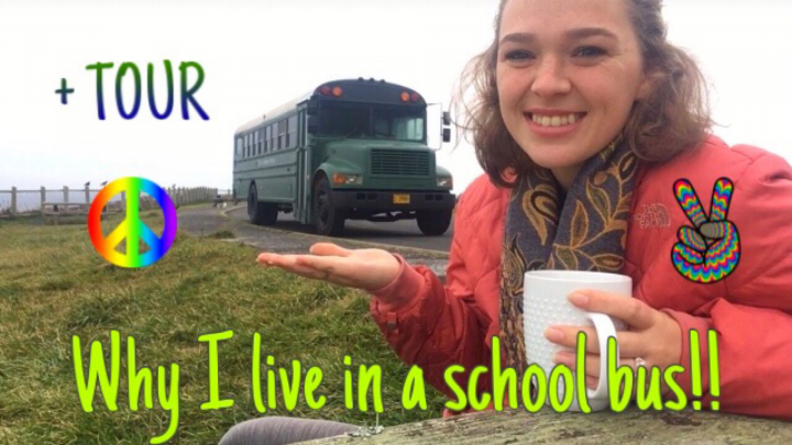 Get to know me and why I live in a school bus!! //Ep:1