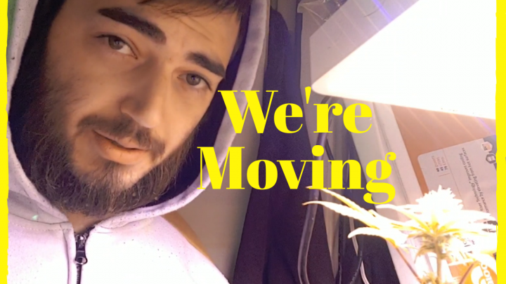 Slyme Dawg Hydroponic Grow Update: I'm Moving!