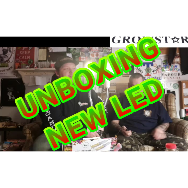 UNBOXING GROWSTARS NEWEST 50W 96 LEDS DUAL HEAD TIMING GROW LAMP SPONSORED BY GROWSTAR