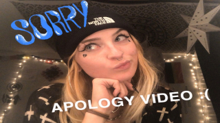 a lil apology video ;(