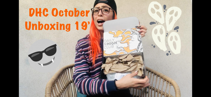 Daily High Club October Unboxing 19'