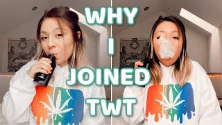 WHY I STARTED MY WEEDTUBE CHANNEL (FEAT. GHOST VAPES)