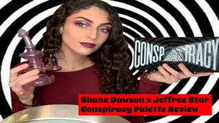 Shane Dawson x Jeffree Star Conspiracy Palette Review STONED|Bakedbeauty420