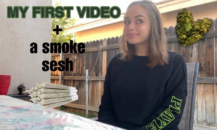 MY FIRST VIDEO/ smoke sesh