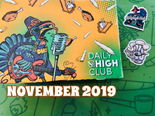 Daily High Club El Primo Box November 2019 Unboxing
