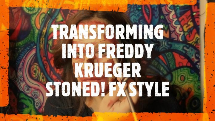 TRANSFORMING INTO FREDDY KRUEGER STONED ASFF (fx style)