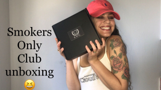 Smokers Only Club subscription unboxing & review !