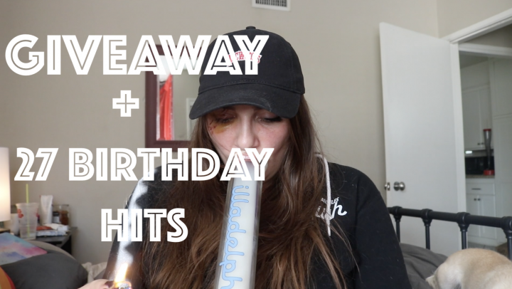 27 BIRTHDAY RIPS! + GIVEAWAY!!!