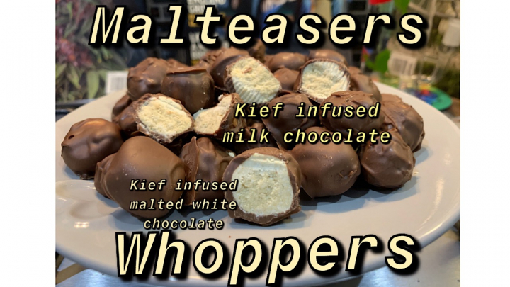 Kief Infused Malteasers/Whoppers Recipe