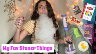 My Favorite Stoner Things | Bakedbeauty420