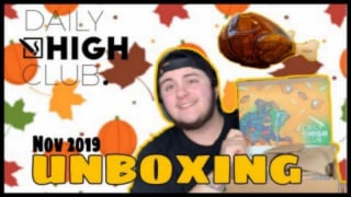 DAILYHIGHCLUB DANKSGIVING NOV. 2019 UNBOXING
