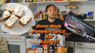 Making Thanksgiving Edibles at home with RSO!
