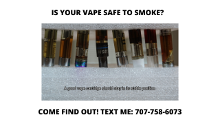 INSIDER INFORMATION #3: How To Tell If Your Vape Is Safe