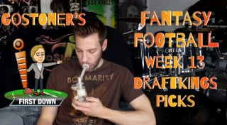 GoStoner's Week 13 Daily Fantasy Football Picks