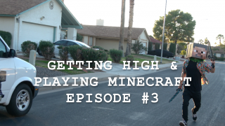 Getting High & Playing Minecraft (Episode #3)