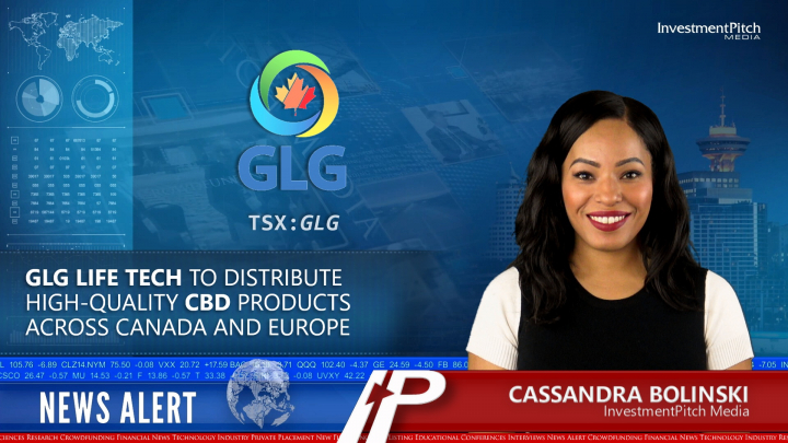 GLG Life Tech to distribute high-quality CBD products across Canada and Europe