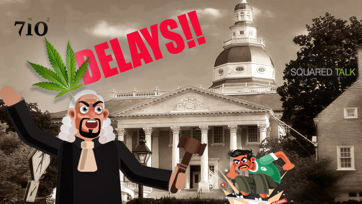 Squared Talk Ep 13 : Delays with Maryland LICENSE applications, Growers vs Dispensaries