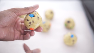How to Make Cannabis M&M cookies.
