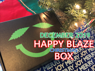 Happy Blaze Box Christmas Box December 2019  Unboxing