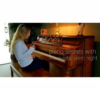 smoke & piano seshes [Alexsvieta : silent night]