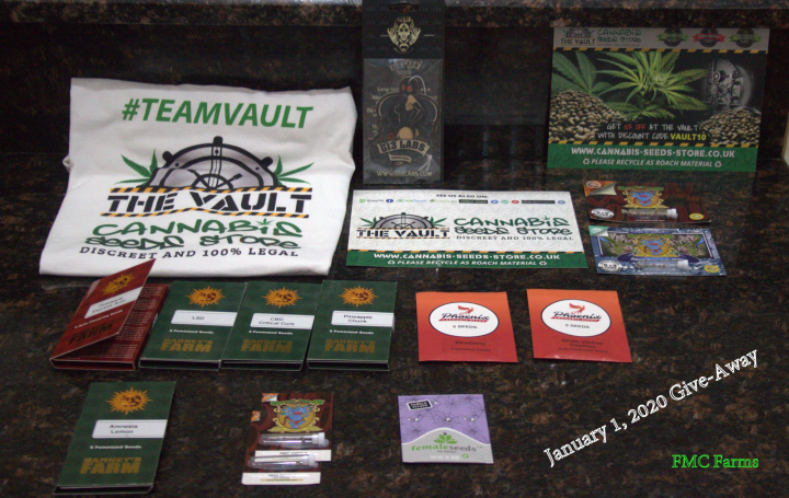 The Vault Unboxing And New Years Day 2020 Seeds Give-A-Way!!