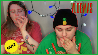 HOLIDAY HOTBOX WHILE DOING BUZZFEED QUIZZES // VLOGMAS