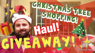 Christmas Tree Shopping! | Haul! | GIVEAWAY!